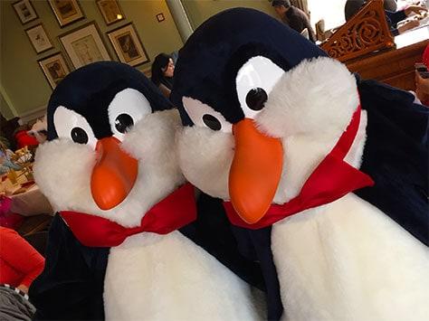 Disneyland Paris Swing into Spring Penguins