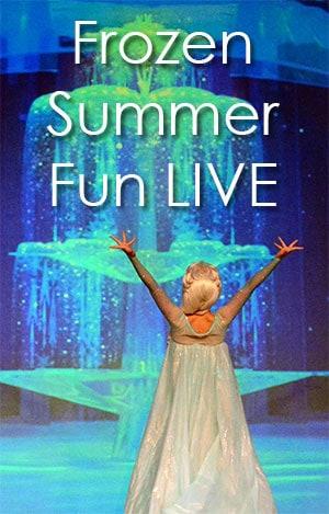 Frozen Summer Fun Live details at Disney's Hollywood Studios in Walt Disney World  l kennythepirate.com