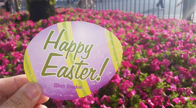 Meet Mr and Mrs Easter Bunny at the Magic Kingdom in Walt Disney World
