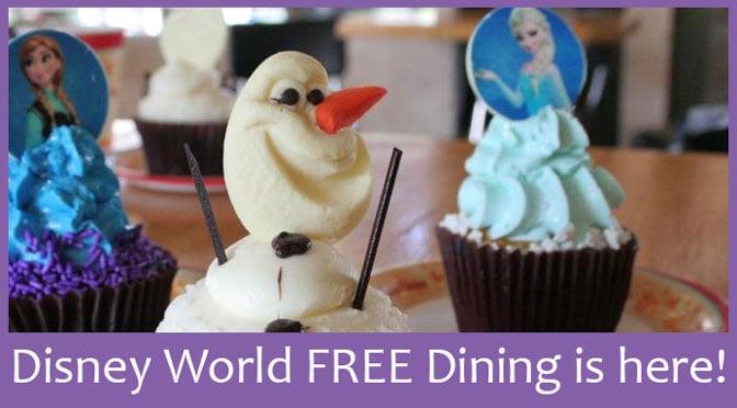 Disney World Free Dining Dates Fall 2015
