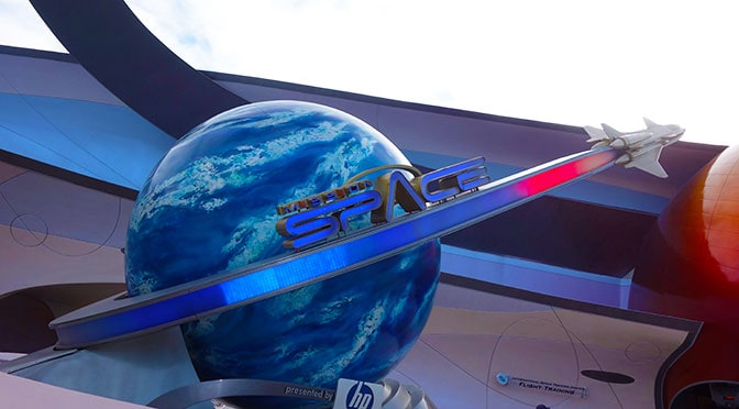 Changes to Mission Space at Epcot in Walt Disney World