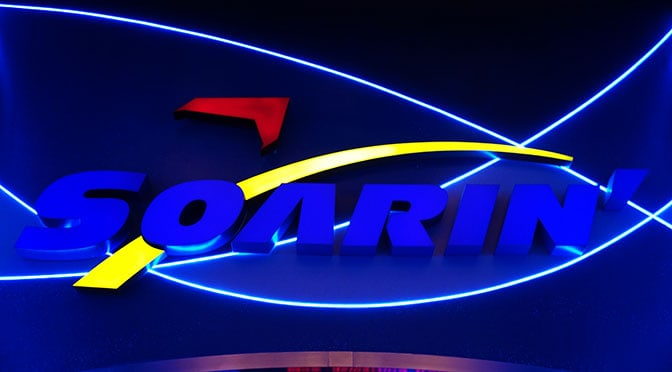 Soarin at Epcot in Walt Disney World