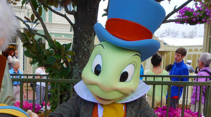 Meet Jiminy Cricket for a limited time