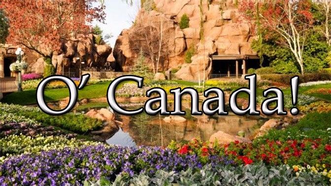 o canada at epcot in Walt Disney World