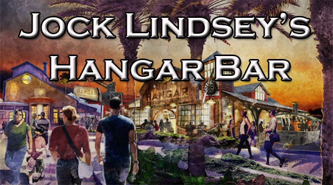 Jock Lindsey's Hangar Bar at Downtown Disney Springs in Walt Disney World