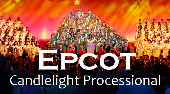 Image result for candlelight processional epcot 2015