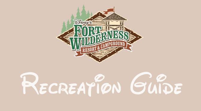 Fort Wilderness Resort Recreation Activity Guide