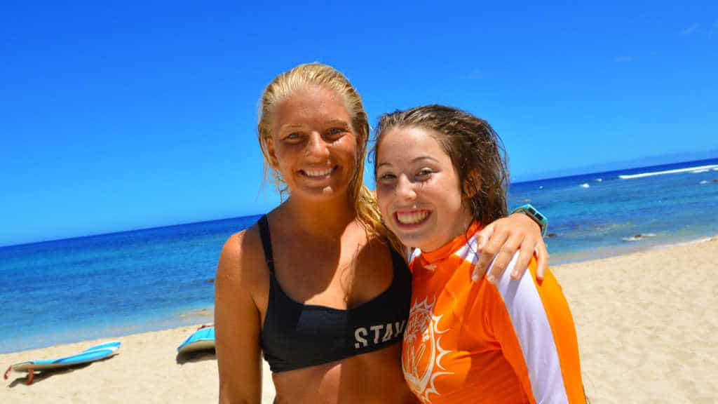North Shore Surf Girls Surfing Lesson Oahu Hawaii (21)
