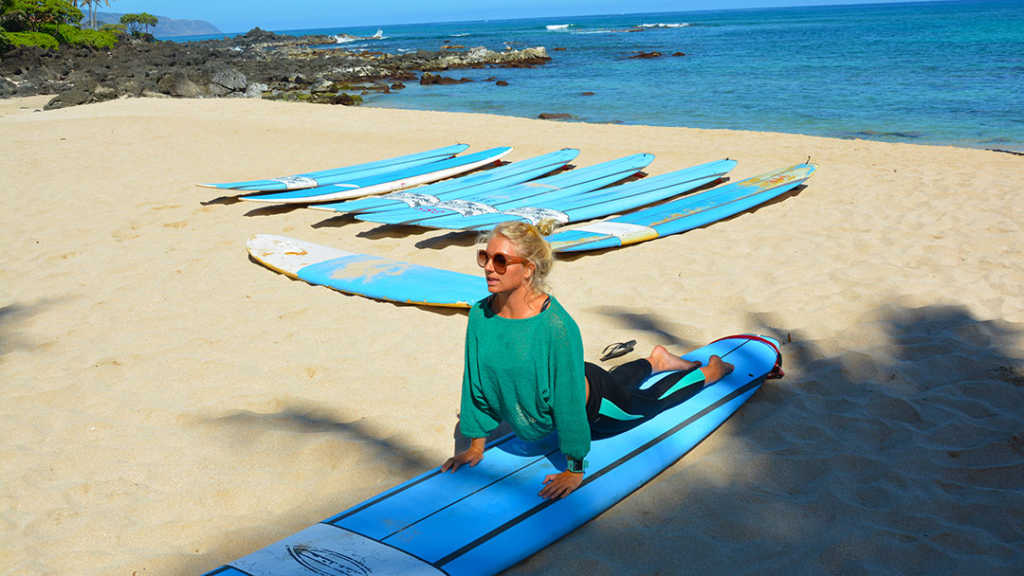 North Shore Surf Girls Surfing Lesson Oahu Hawaii (4)