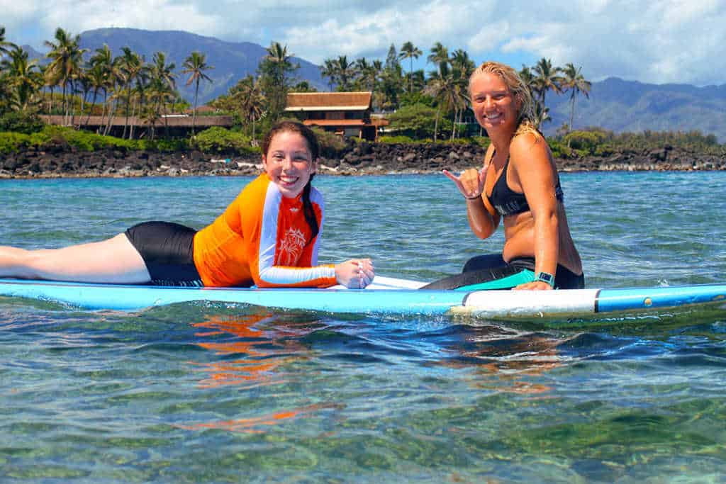 North Shore Surf Girls Surfing Lesson Oahu Hawaii William Edwards Photography (1)
