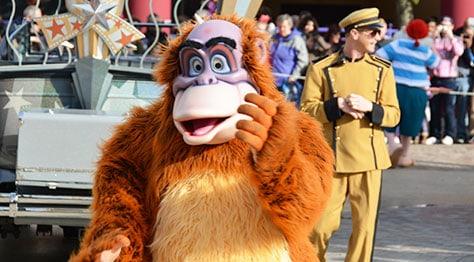 Stars n Cars Meet and Greet Disneyland Paris Disney Studios Paris King Louie