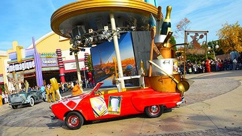 Stars n Cars Meet and Greet Disneyland Paris Disney Studios Paris Ratatouille