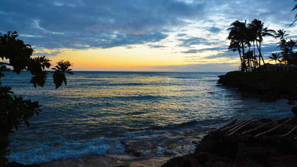 Turtle Bay Resort Noth Shore Oahu Hawaii Sunset (1)