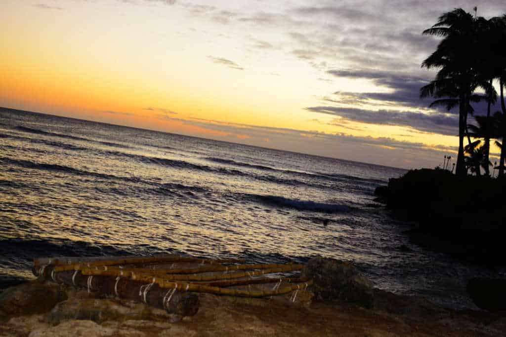 Turtle Bay Resort Noth Shore Oahu Hawaii Sunset (2)