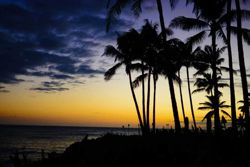 Turtle Bay Resort Noth Shore Oahu Hawaii Sunset (9)