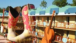 All Star Music Resort Cowboy Boots