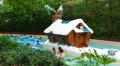 Cross Country Creek at Disney's Blizzard Beach Water Park