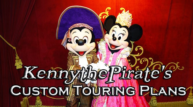 KennythePirate's Custom Disney World Touring Plans