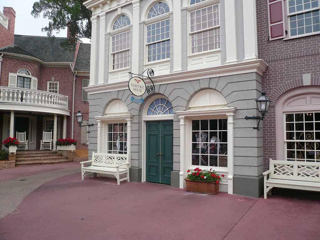 Heritage House Magic Kingdom Walt Disney World