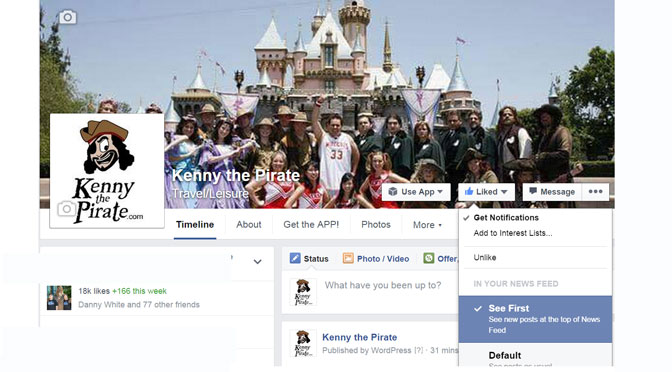 How to get Facebook notifications from your favorite fan pages