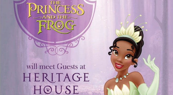 Princess Tiana and Prince Naveen from the Princess and the Frog get a new indoor location at the Magic Kingdom