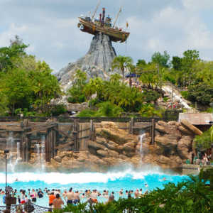 Surf Wave Pool at Disney's Typhoon Lagoon Water Park