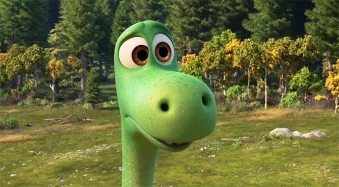 Trailer for the Good Dinosaur by Pixar