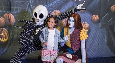 Disney Cruise Line Halloween Jack and Sally