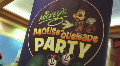 Disney Cruise Line Halloween Mickey's Mousequerade Party