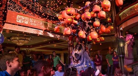 Disney Cruise Line Halloween Pumpkin Tree