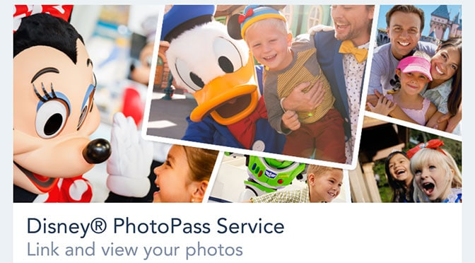 Photopass previews added to My Disney Experience