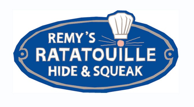 Remy's Ratatouille Hide & Squeak