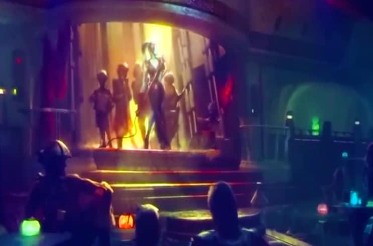 Star Wars Land Mos Eisley Cantina 2