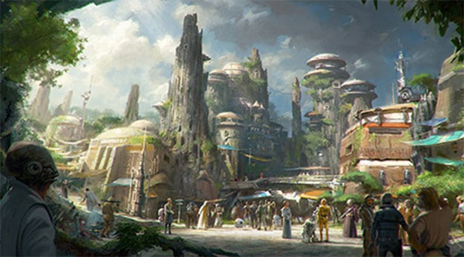 Star Wars Land coming to Hollywood Studios and Disneyland