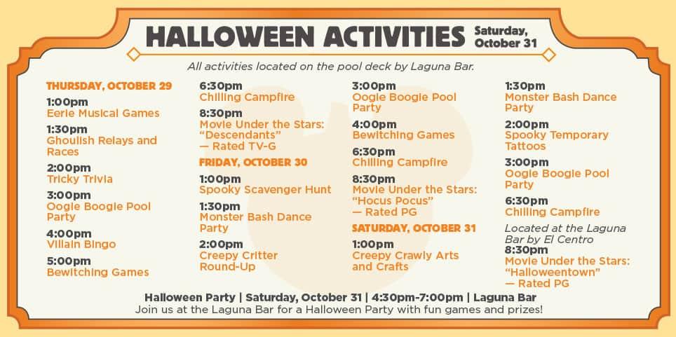 Halloween 2015 Coronado Springs Resort
