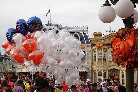 Mickey's Not So Scary Halloween Party at Walt Disney World's Magic Kingdom 2015 (12)