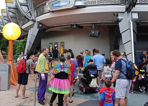 Mickey's Not So Scary Halloween Party at Walt Disney World's Magic Kingdom 2015 (24)