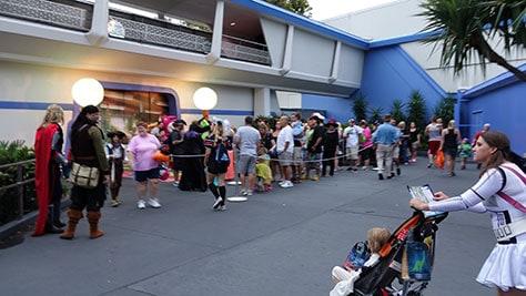 Mickey's Not So Scary Halloween Party at Walt Disney World's Magic Kingdom 2015 (26)