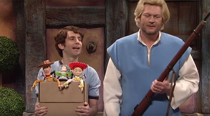 Saturday Night Live John Smith skit