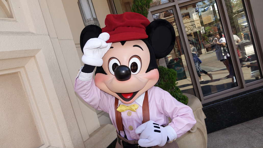 Mickey Mouse at Disney California Adventure