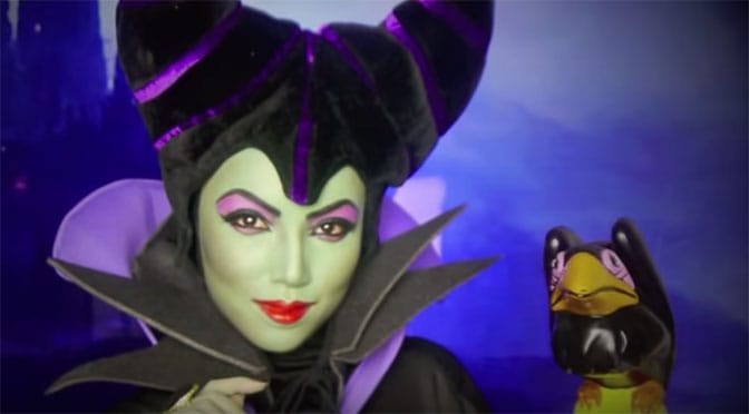 Famous Youtuber teaches how to transform into Disney Villains