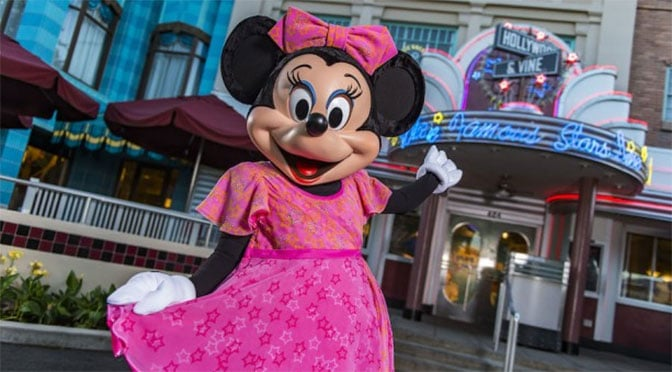 Minnie and friends dinner at Hollywood and Vine to become year around
