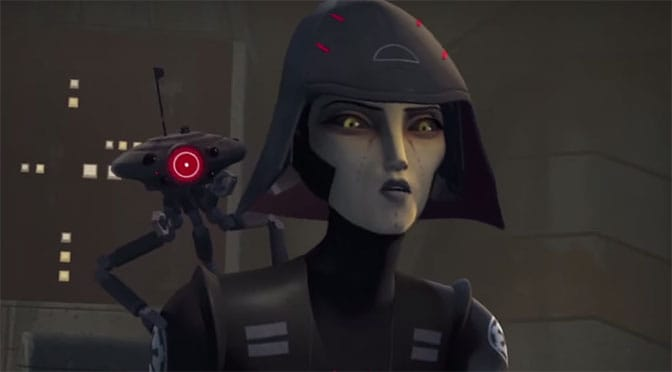 Jedi training academy trials of the temple to offer the Seventh Sister from Star Wars Rebels