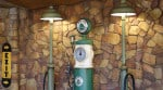 Dinoco gas pump at Radiator Springs Racers
