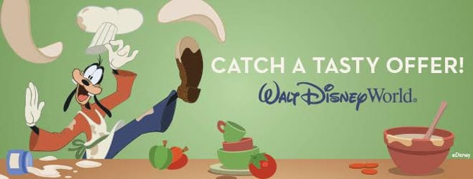 Free Quick Service Meal offer at Walt Disney World
