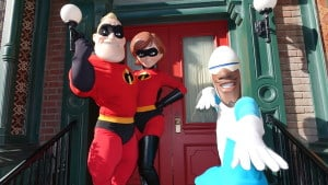 Incredibles Disney California Adventure December 2015 (3)