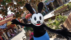 Oswald the Lucky Rabbit at Disney California Adventure 2015 (1)