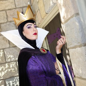 Queen Grimhilde at Disnyland Fantasyland 2015