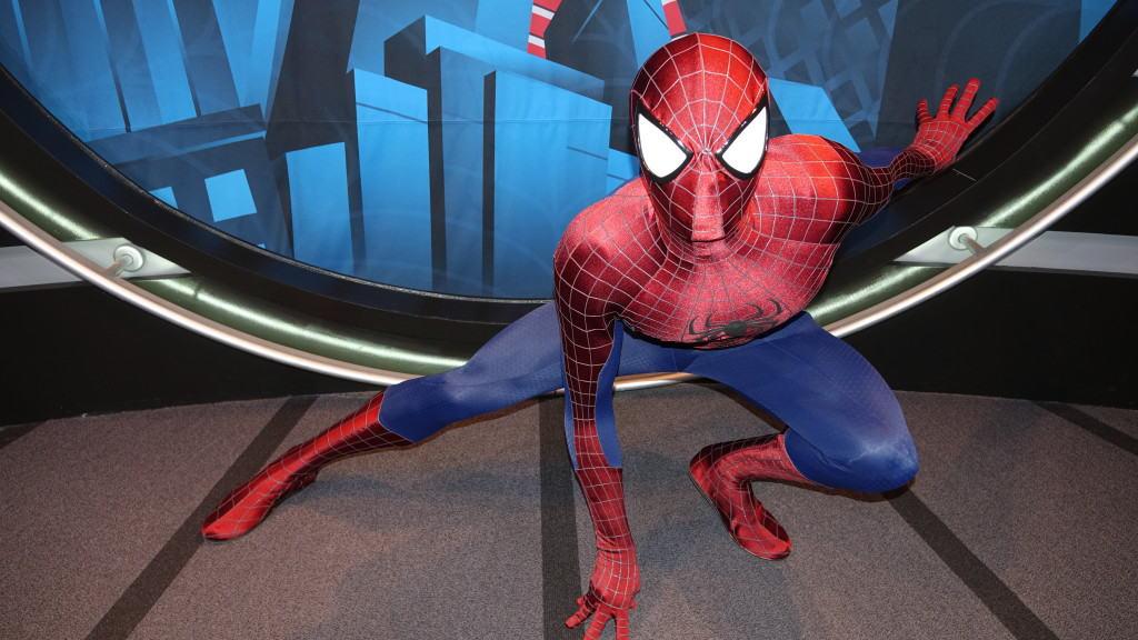 Marvel meet and greet Spiderman