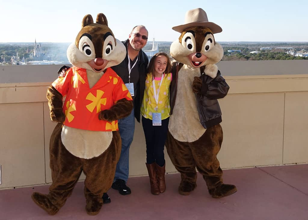 DVC 25th Anniversary Party at Magic Kingdom in Disney World Chip n Dale Rescue Rangers #dvc25